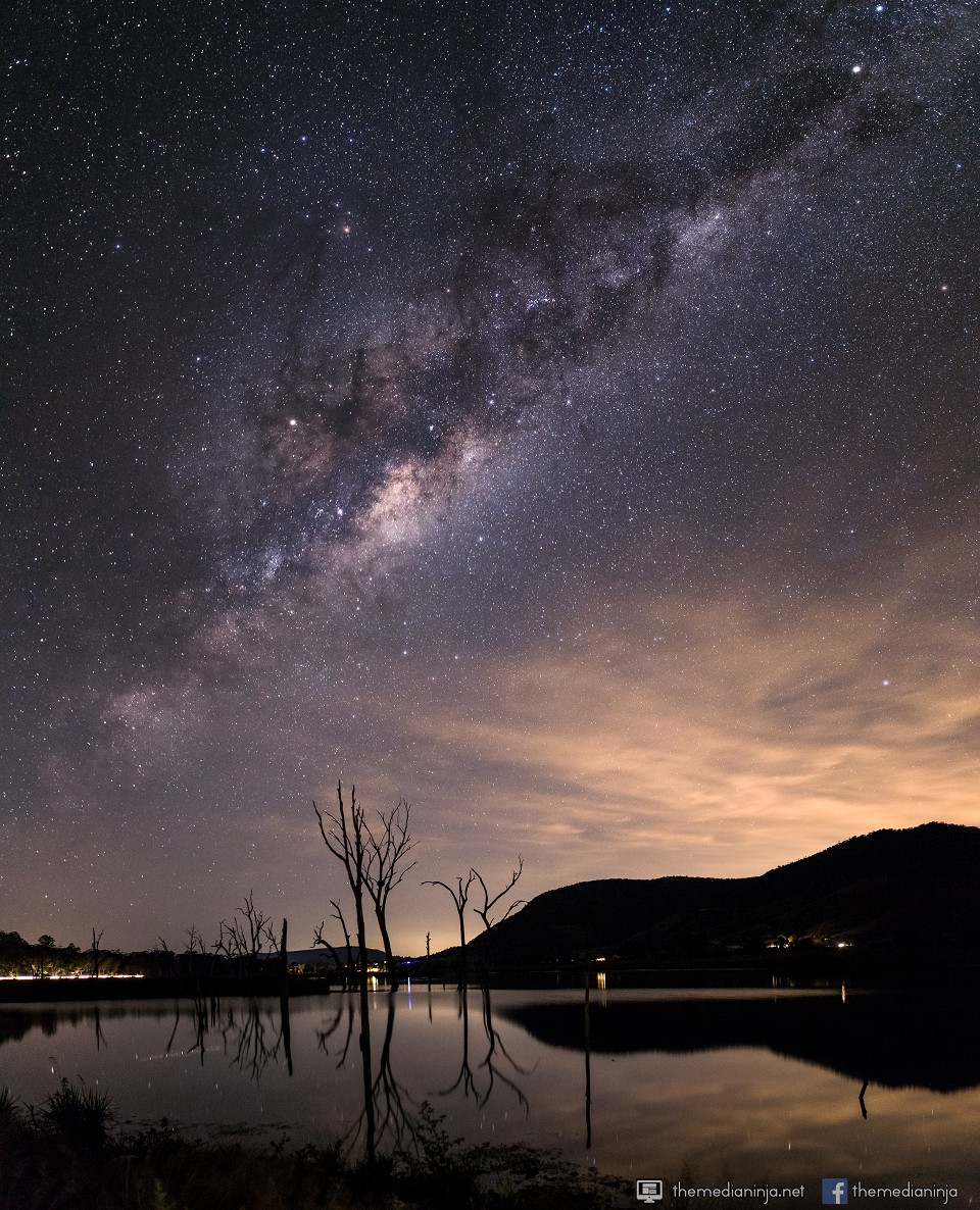 Milky Way over Sommerset dam