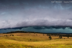 Walloon Shelf cloud