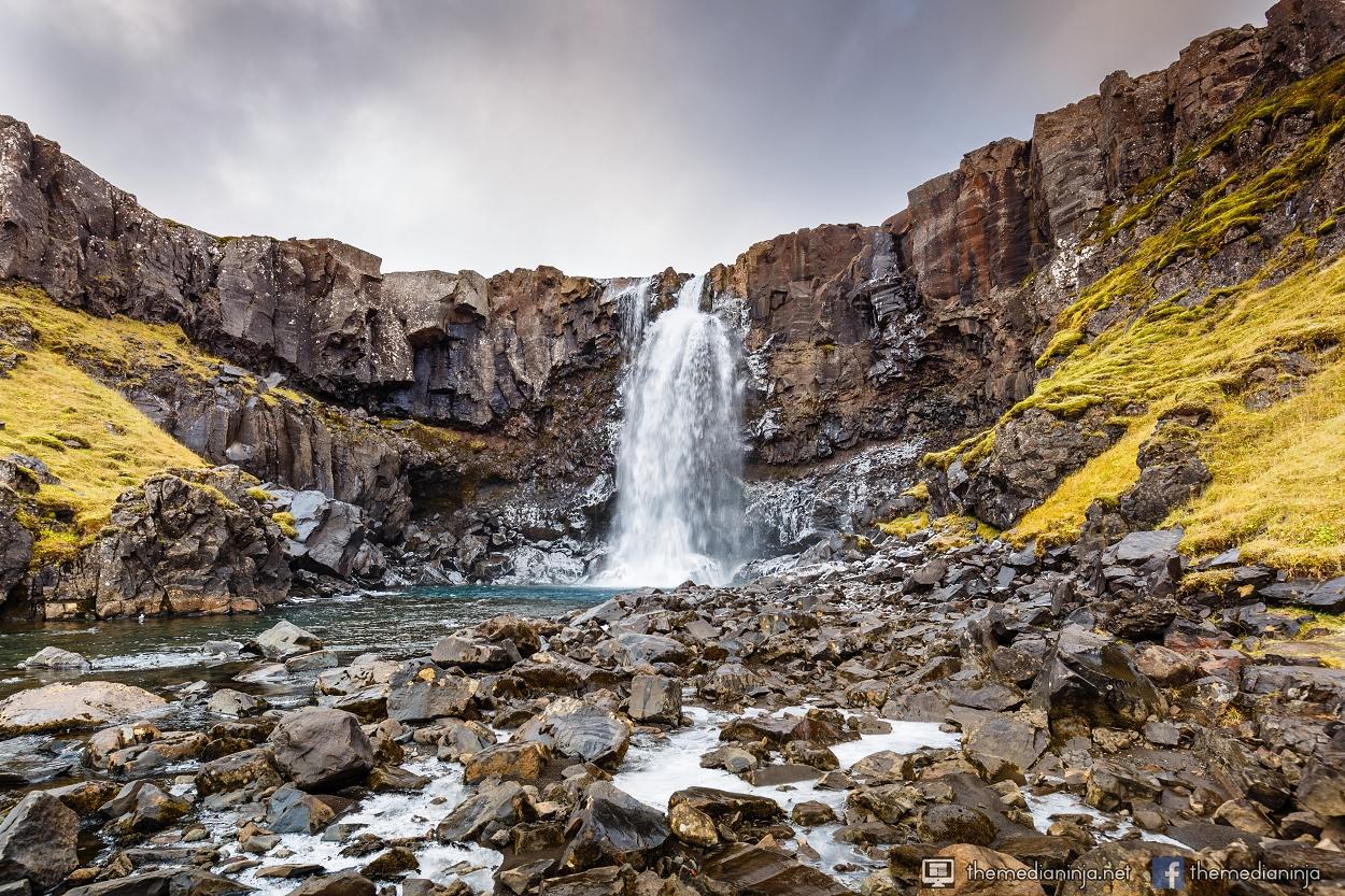 Gufufoss. Seyðisfjörður, Iceland.
